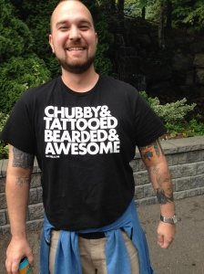 I don't know who this guy is, but I was at the Oddball Comedy Fest and saw his shirt, and now I want one!